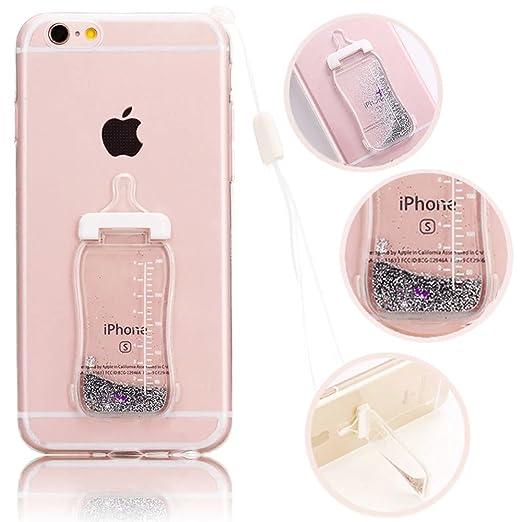 2 opinioni per Vandot Silicone Custodia iphone 6 6s, 3D Creative Design Ultra Slim Carina