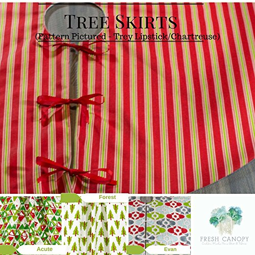Christmas Tree Skirt - Choose from 4 Holiday Prints - 24