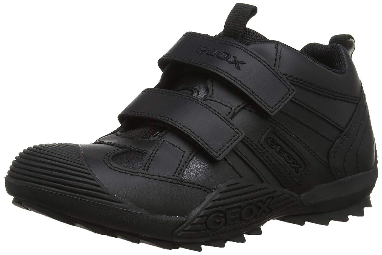 Geox Boy's JR SAVAGE Velcro Strap Shoe Geox CA J0324G05443C9999