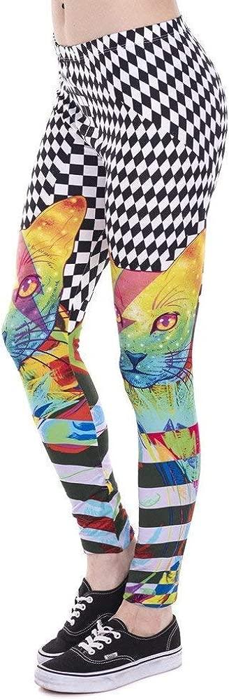 Lannister Fashion Pantalones De Yoga Mujer Leggings Impreso Colorido Moda Hipnótico Gato Leggins Fitness Legging Pantalones De Mujer De Cintura Alta (Color : Lga43854, Size : One Size): Amazon.es: Ropa y accesorios