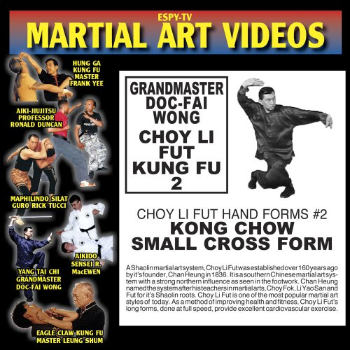 Choy Li Fut Kung Fu - Grandmaster Doc-fai Wong - Video 2: Kong Chow Small Cross FOR