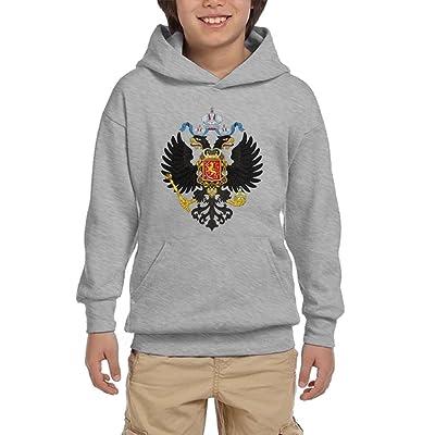 Switzerland Lion Crest Flag Youth Unisex Hoodies Print Pullover Sweatshirts