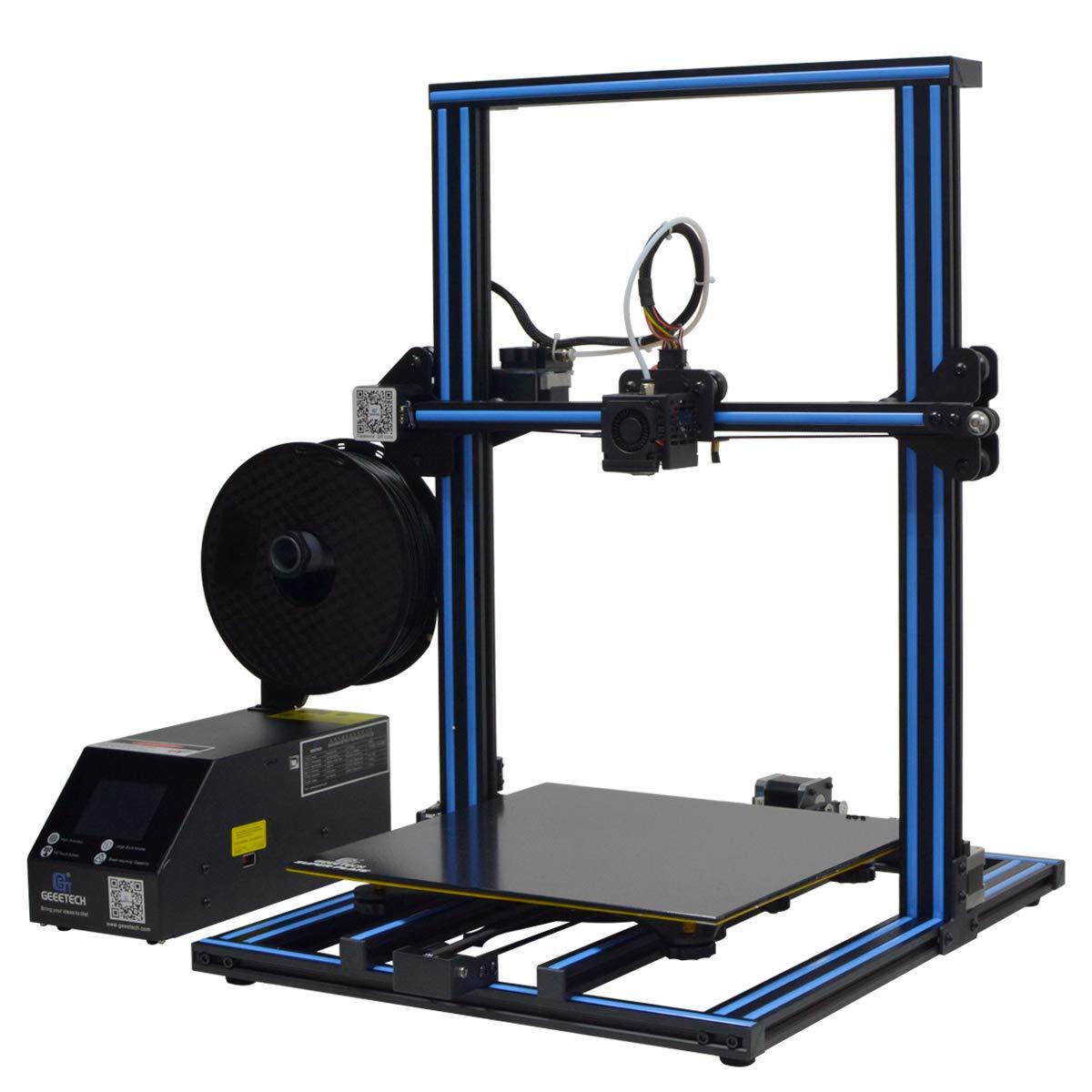 Hengda geeetech A30 3D Drucker mit Super Grossem Bauraum:320×320×420mm und Power Failure Recovery,3.2″Vollfarb-Touch Screen,Gute Haftung auf dem Druckbett,Open source firmware,Halb Montiertes DIY Kit.