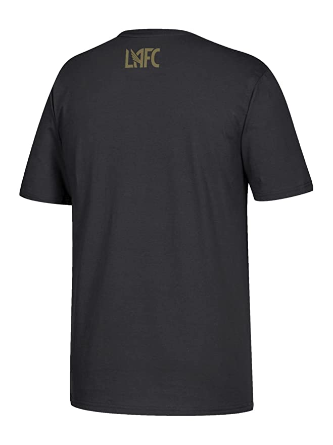 ceb0bd180 Amazon.com   adidas Carlos Vela LAFC MLS Go to Tee Black Gold Short Sleeve T -Shirt   Sports   Outdoors