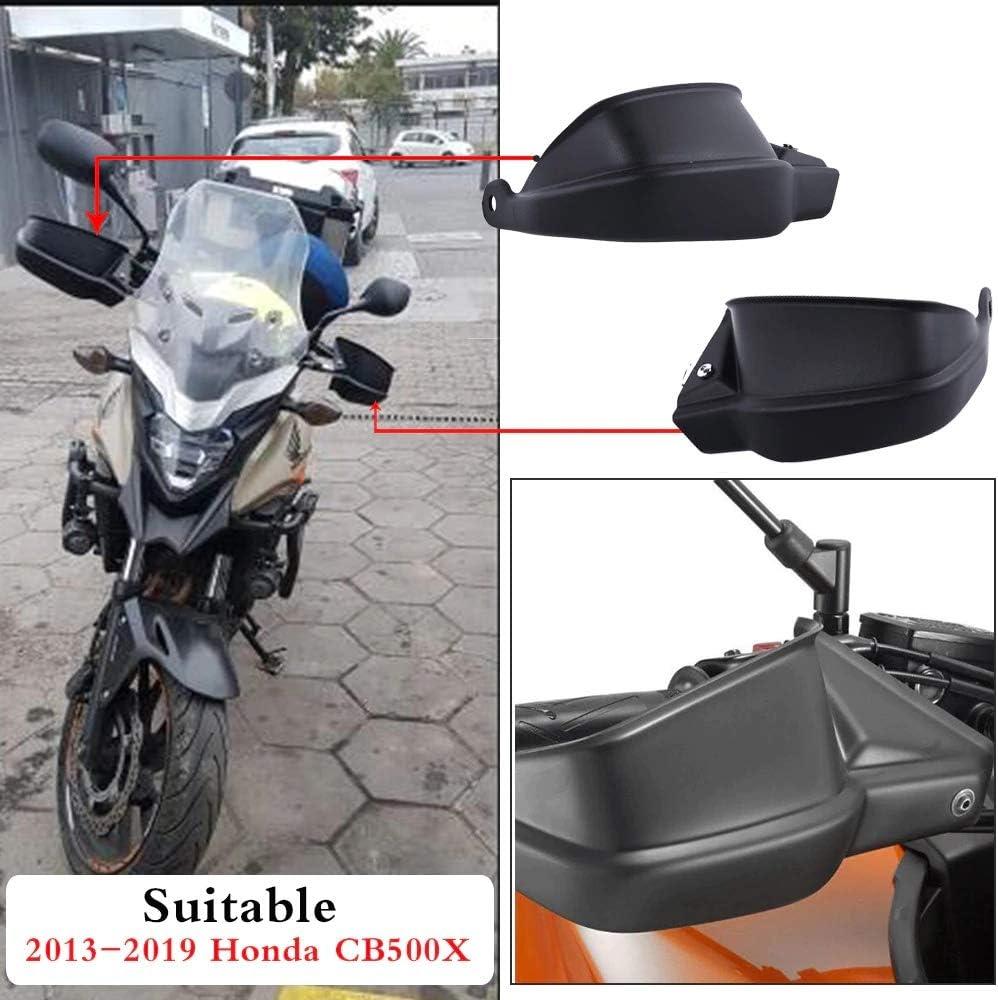 Protector de manillar de motocicleta XXECommerce para manillar de motocicleta de 2013 a 2018, para H-o-nd-a CB500X 2014 2015 2016 2017