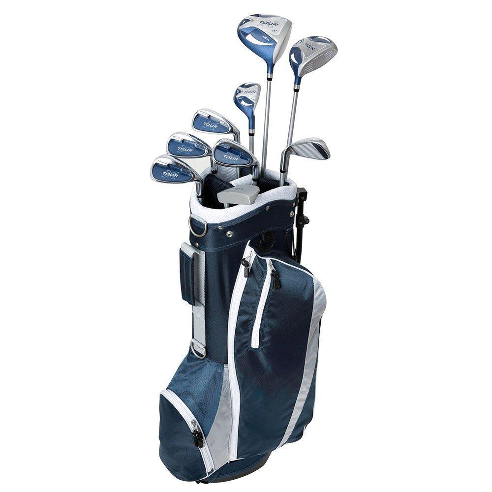 Tour X Women's 12 pc Package Set - Steel-Right Hand-12 Piece Set-Graphite-Standard by Merchants of Golf (Image #1)