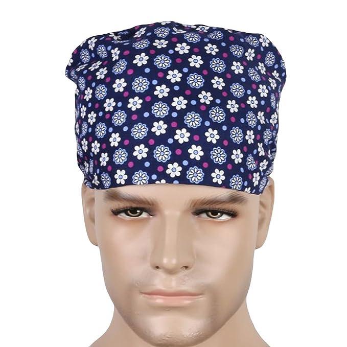 d74a505bb75 Nothar Surgical Scrub Hat Chef Nurse Vet Dr Cap  Amazon.co.uk  Clothing