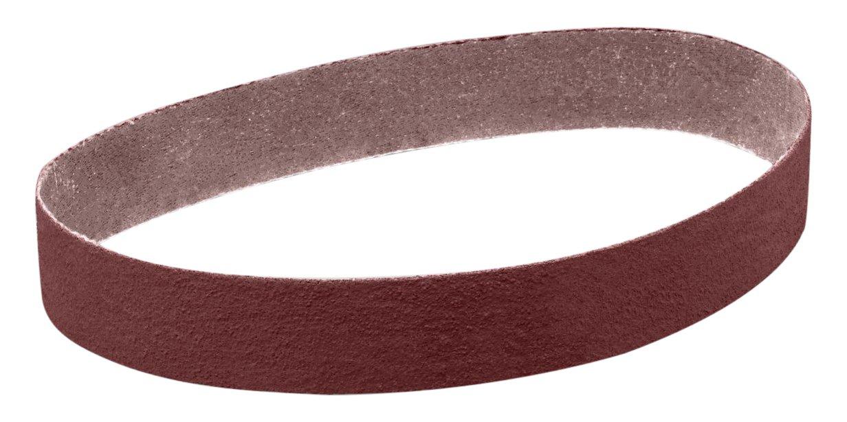 3M 26405 Cloth Belt 341D, 2-1/2'' x 60'' 40 X-Weight, Cloth Backing, Aluminum Oxide Abrasive Grit, 2.5'' Width, 60'' Length, (Pack of 50)