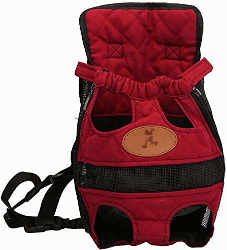 Saiger Pet Travel Bag Cat Carrier Bag for Small Dogs Pet Five Holes Backpack Front Chest Backpack