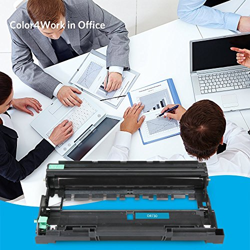 COLOR4WORK Replacement for Brother DR730 Drum Unit 1-Pack, Page Yield Up To 12,000 Pages, Compatible For Brother MFC-L2710DW HL-L2350DW HL-L2370DW HL-L2390DW HL-L2395DW DCP-L2550DW MFC-L2750DW Printer Photo #8