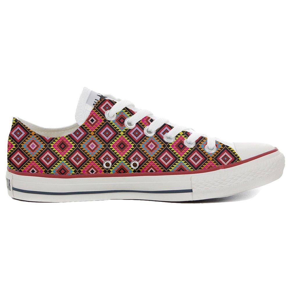 Converse All Star Slim personalisierte Schuhe (Handwerk Produkt) African Texture  41 EU