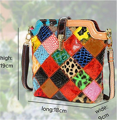 Frauen Taschen, Damen Handtaschen, Schaf-Leder Schulter Beutel