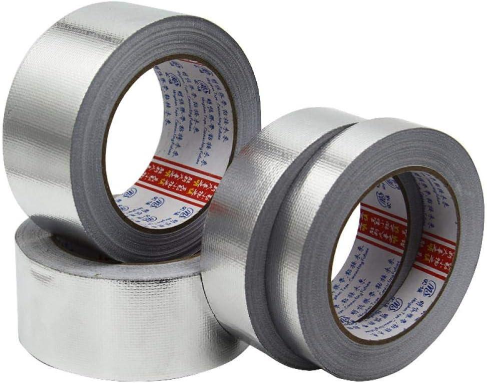 Gocableties Cinta de aluminio 50 m x 100 mm