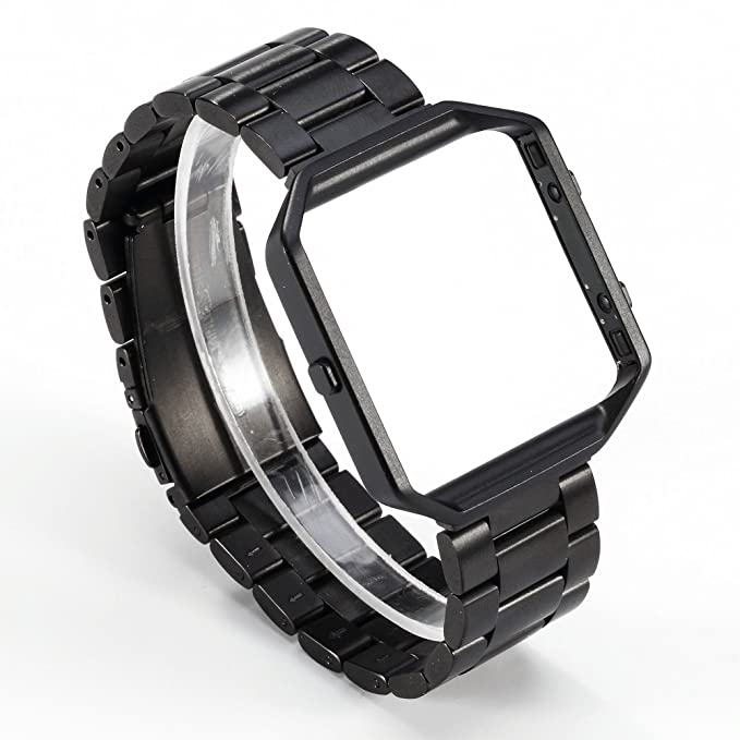 Fitbit bandas de Blaze – vanctec Metal de acero inoxidable correa de pulsera de repuesto para Fitbit Blaze Smart Fitness reloj