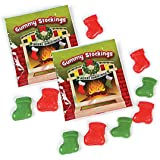 Christmas Stockings Gummy Candy Fun Packs (18 packs)