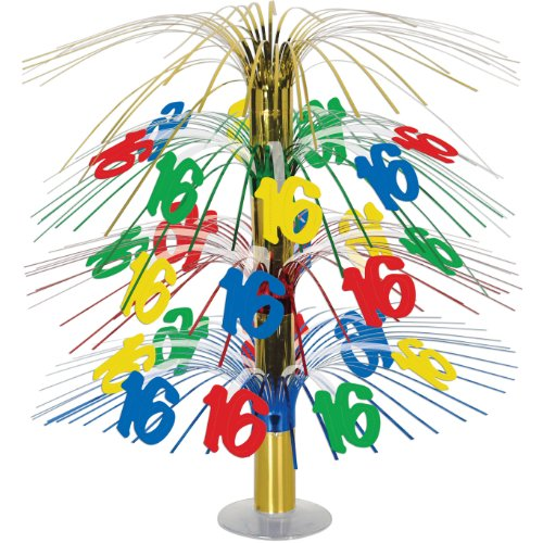 16 Cascade Centerpiece (multi-color) Party Accessory  (1 count) (1/Pkg)
