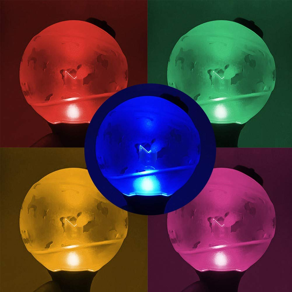 Aufind Official Kpop BTS Lightstick Ver.3 Bangtan Boys LED Light Concert Army Bomb, Color Changing by Bighit Factory (Image #2)