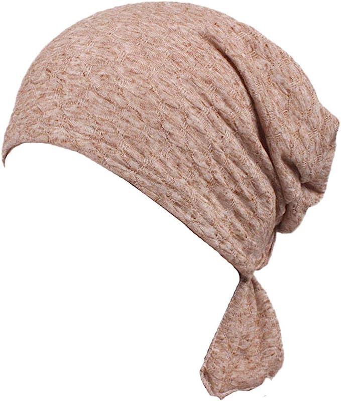 YONKINY Sombrero Turbantes De Cancer Quimioterapia Para Mujer ...