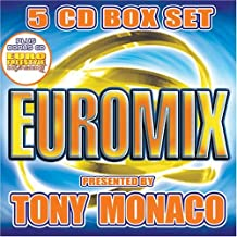 Euromix 5 CD Box Set Presented by Tony Monaco