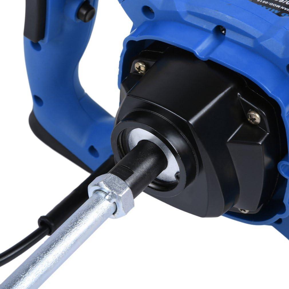 930r//min,¢:160mm Mezclador de mortero 220V 1900W,mezcladora de mortero pintura agitador de pintura batidor de cemento,Profesional Industrial Potente Mezclador 50-60Hz