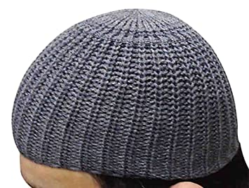 f02cccff097 Image Unavailable. Image not available for. Color  Wool Kufi Koofi Kofi Hat  Topi Egyptian Skull Cap Beanie Men Islamic ...