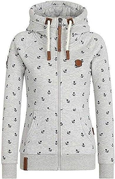 40 XL Neu Oberteil Jacke Sweatjacke Pullover Fleece Kapuze Zipper Sublevel Gr
