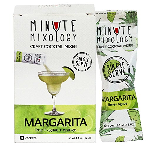 Minute Mixology Margarita Craft Cocktail Mixer/Instant Mix (16 Packets)