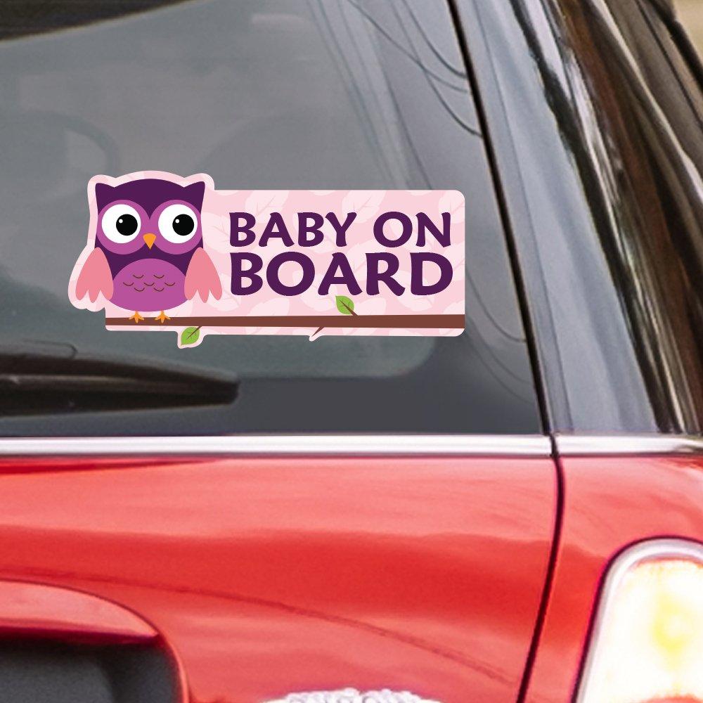 Monkeys Vinyl Baby on Board Window Car Decal