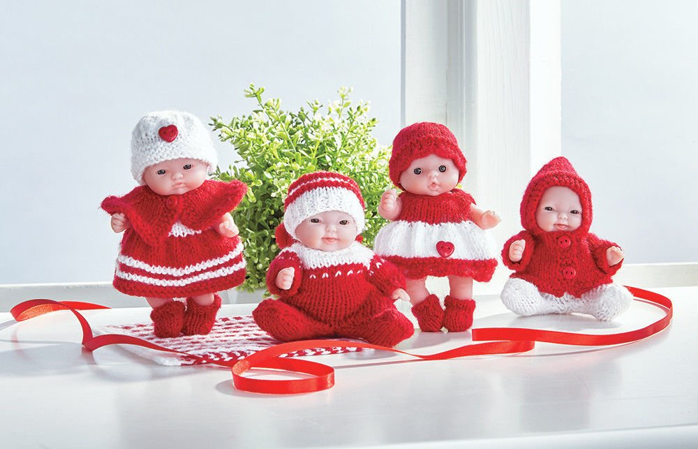 Valentine's Day Ensemble Doll Kit