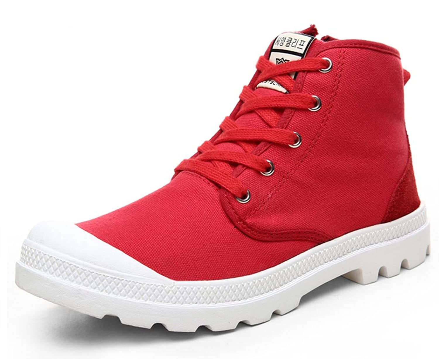 Ws West Scarp Men's Women's Classic Lace up High top Canvas Boot