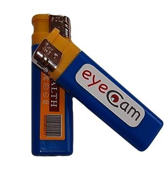 MINI DVR Mechero cámara espía, Cámara espía, ligero, eye cam, encendedor con cámara de 16 GB tarjeta de memoria: Amazon.es: Electrónica