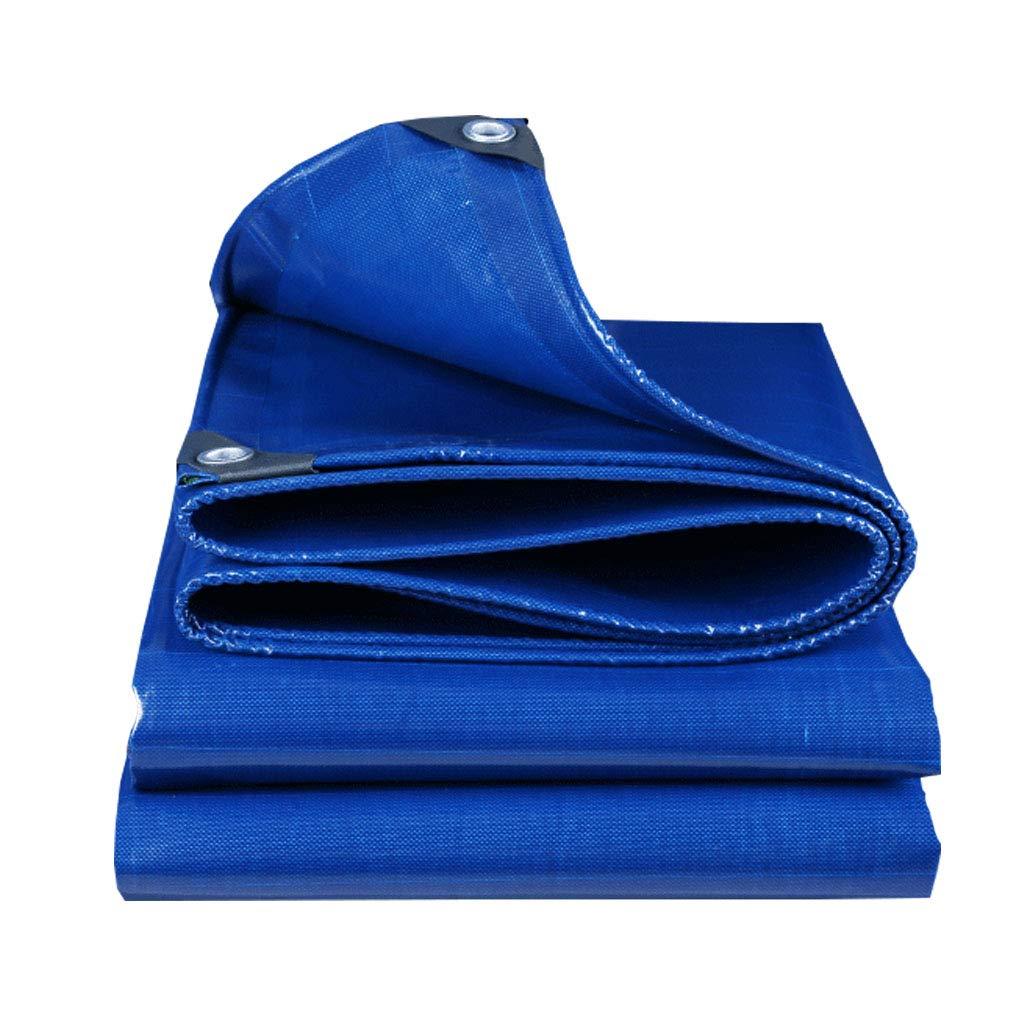 YX-Planen Hochleistungsplanen-Mehrzweck-Reversible Waterproof - Blau 100% wasserdicht und UV-geschützt - - - Dicke 0,45 mm, 500 g m² B07KS38Y5V Zeltplanen Neue Produkte im Jahr 2018 8c8866