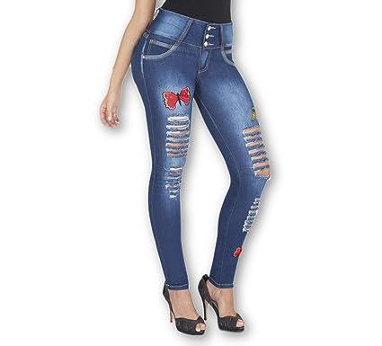 Moda Dulce Jeans Kari Levanta cola
