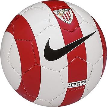 Nike Ball Bilbao Supporters Balón de fútbol, Unisex, Blanco/Rojo ...
