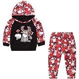 075c7ba2e747c Oyedens Vêtement Bébé Fille Hiver Noël Offres Infant Nouveau Né Enfant  Toddler Chemises Blouse Bébé Fille