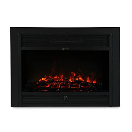 Perfect XtremepowerUS 28.5u0026quot; 1500W 5200BTU Embedded Electric Fireplace Insert  Heater W/Remote Control