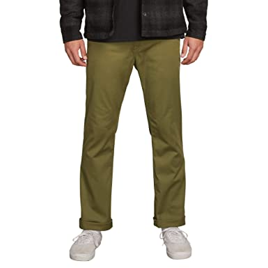 45e18280f31047 Amazon.com: Volcom Men's Frickin Modern Fit Stretch Chino Pant: Clothing