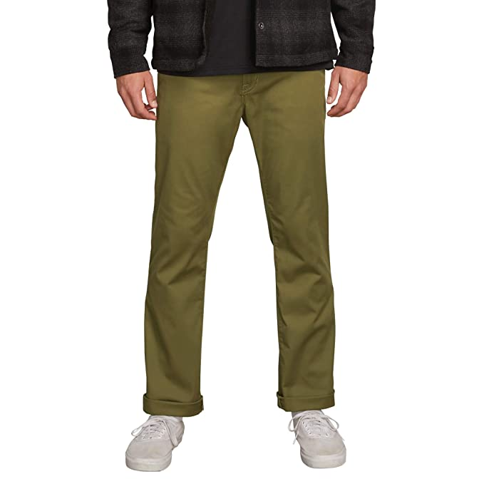 691c4fc8 Amazon.com: Volcom Men's Frickin Modern Fit Stretch Chino Pant: Clothing