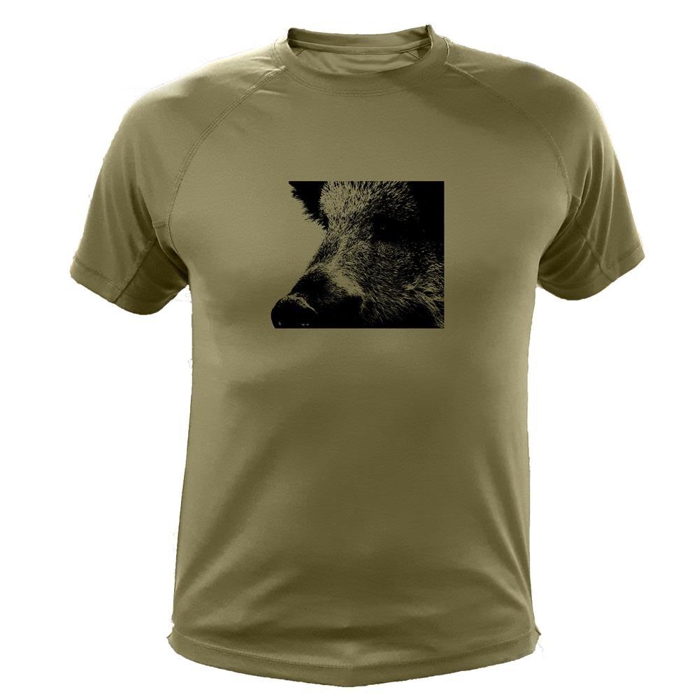 Camiseta de Caza Verraco Jabal/í Regalos para Cazadores Zoom