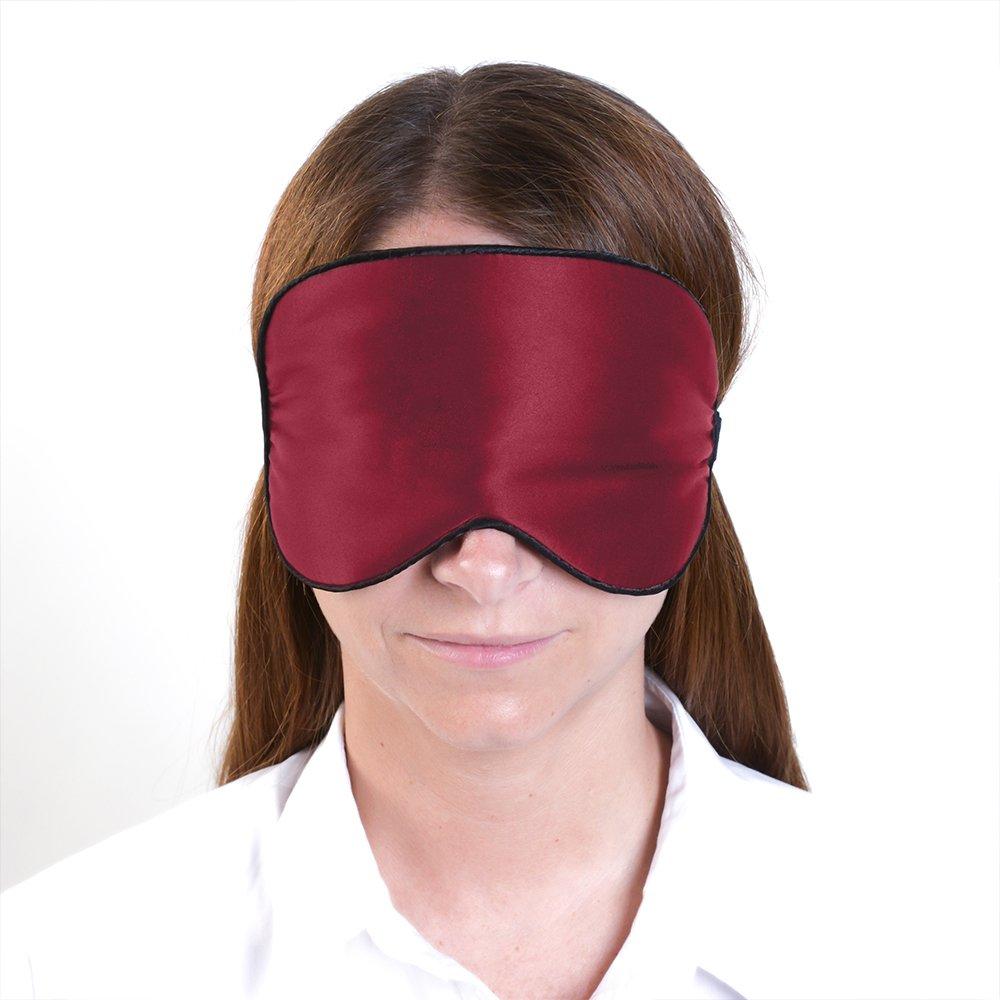 Dormibene Antifaz -Máscara de suēno bloquear la luz Para Dormir - 100% Pura seda - La Mejor Calidad - Ayuda A Dormir - Goma Elástica Ajustable - Tapones de ...