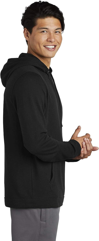 Sport Tek Mens PosiCharge Tri-Blend Wicking Hoodie
