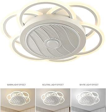 Ventilador de Techo con Luz y Mando a Distancia Ventilador ...