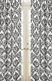 Sweet Jojo Designs Damask Print 2-Piece Isabella Window Treatment Panels