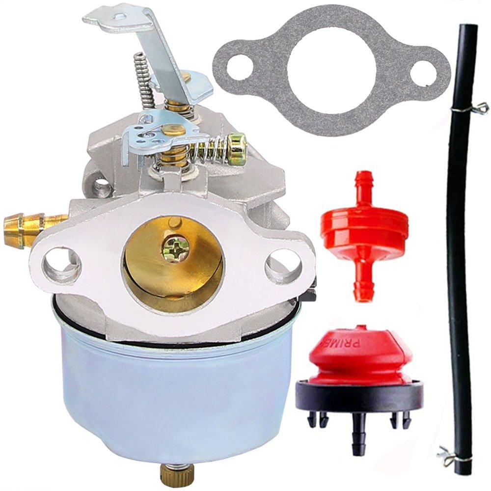631793 Carburetor for Tecumseh 631793 631440 H70 H80 Snow Throwers 7HP 8HP 9HP Snow Blowers - 7HP 8HP 9HP 8HP Tecumseh Carburetor (631793)