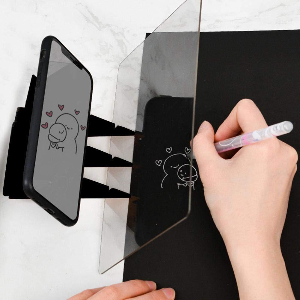 Cracklight Kinder Kinder Optische Zeichnung Helfer Kopiertisch Projektion Linyi Platte Optische Lackierstra/ße Draft Extractor Projektor Malerei Tracing Board Skizze Zeichnung Bord Natural