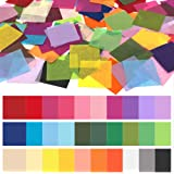Art Rainbow Tissue Paper for Arts Craft DIY Scrapbooking,Birthday Party Festival Tissue Scrunch Art Project Jyongmer 6000Pcs Multicolor Tissue Paper Squares 2inch
