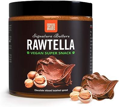 Rawtella | 100% Natural | Crema De Avellanas Con Chocolate Vegano | THE PROTEIN WORKS | 500g