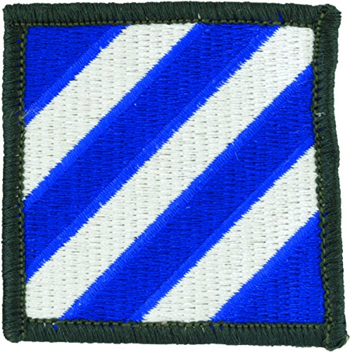 3rd Infantry Division Patch (Full Color (Dress)) (Division 3rd Patch Infantry)