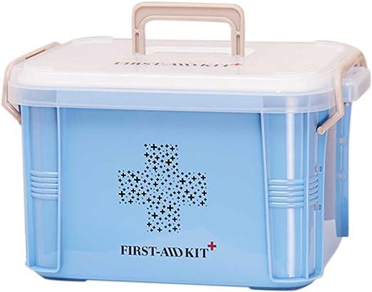 Ballylelly Práctico Diseño Home Use Medicine Box Kit de Primeros ...