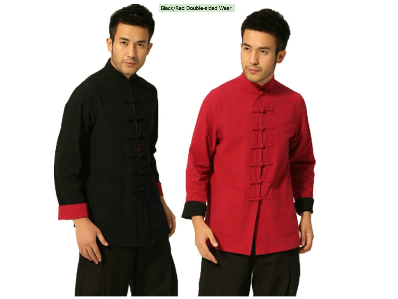 100% Cotton Tang Suits Double-sided Wear Retro Jackets Business Jackets